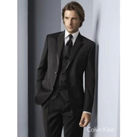 Wholesale Groom Suit Men Popular - New Popular Men's Business Suits Groom Tuxedo Prom Clothing (jacket+pants+tie+vest)A 5