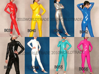 Pro Sexy Clubwear Costume Wet Look PVC Catsuit Fancy Dress A...