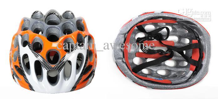 Casque cellulaire à vélo 41 trous un vélo de casque de vélo de course ultra-légère intégré
