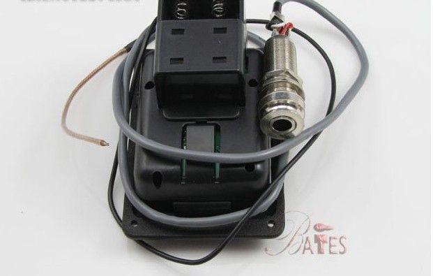 Akustikgitarre Pickups / Gitarre 5-Band EQ Preamp Tuner Pickup JOYO JE-307