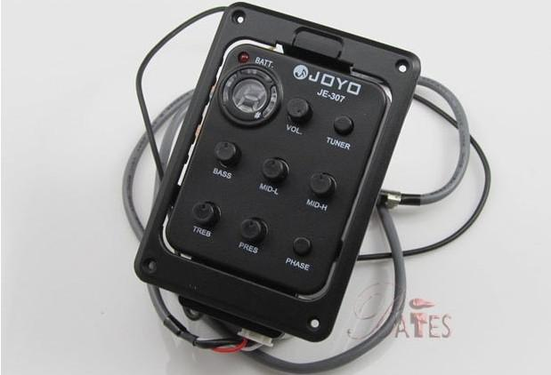 acoustic Guitar pickups/guitar 5-Band Preamp EQ Tuner Pickup JOYO JE-307