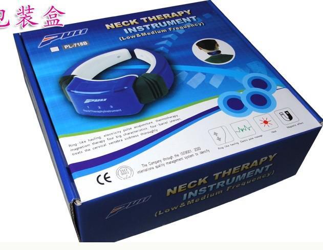 Kızılötesi servikal terapötik Boyun tedavisi enstrüman masaj makinesi hattı Kontrol onlarca makinesi ile