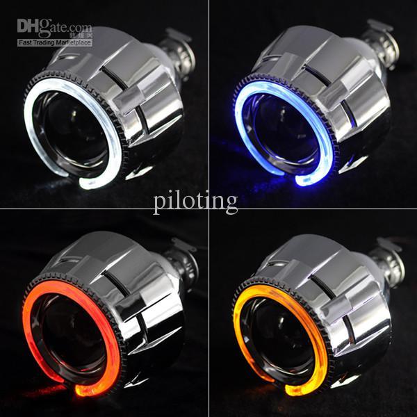 Piloting Optical Lens New Led Angel Eyes Evil Eye Bi Xenon