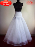 Wholesale Tulle Slips - 2016 Cheapest A-Line Bridal Petticoats One-Hoop Wedding Underskirt Crinolines Fashion Tulle Bridal Petticoat for Wedding Half Slips GD-352