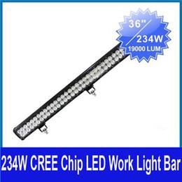 "Wholesale combo light bar - 2013 NEW 36"" inch 234W CREE 78-LED*(3W) Work Light Bar Off-Road SUV ATV 4WD 4x4 9-32V Spot   Flood   Combo Beam 19000lm IP67 Jeep Truck Lamp"