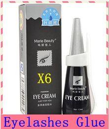 Wholesale Eye Doubling Glue - Glue for False Eyelash Double Eyelid Adhesive 12ml Eye lash glues Fashion Eye Cream makeup Glue
