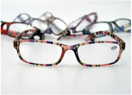 Wholesale Cheap Plastic Resin - Cheap Plastic Reading Glasses Classic Long-Sighted Glasses Resin Lens For Parents Older Peoples Mix Different Power 50pcs lot