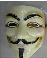 ingrosso team di illuminazione-Maschera di carnevale di Halloween (taglia adulto), 40g, giallo chiaro, 1pc / lotto CPA