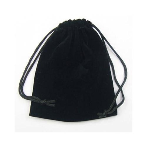 أسود حقائب مجوهرات المخملية الحقائب التعبئة والتغليف عرض للأزياء هدية الحرفية القرط الدائري قلادة 100 قطعة / الوحدة B03