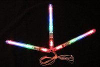 EMS Livraison gratuite LED Glow Stick 7 Fonctions Flashing Stick Led Flash Stick Stick Sticks 21 * 1.6cm