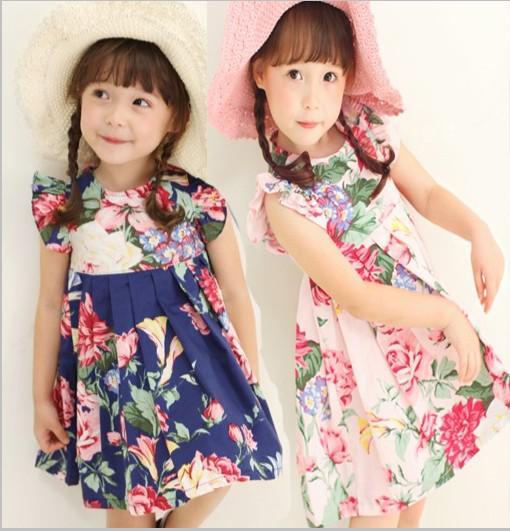 Print Dresses for Girls