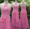 2013 Low price pink color wedding dresses RomanticWeddinggown Bride wedding Dress 0888
