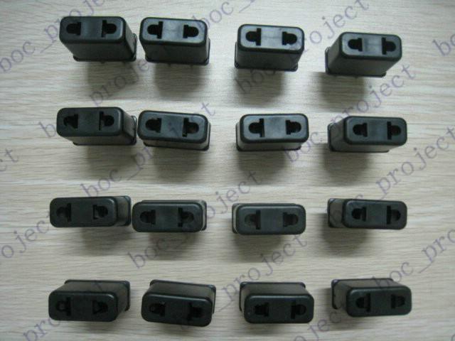 米国へのEU AC電源プラグアダプタトラベルコンバーター旅行充電器プラグアダプタコンバーターUS 2ピンプラグ壁充電器/ロット