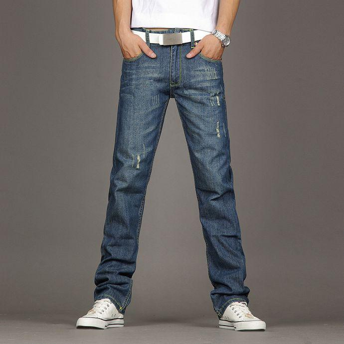 2017 New Jeans For Men Straight Leg Jeans Shop Factory Outlet ...