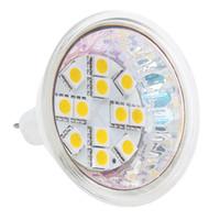 Wholesale Mr16 Led Wide - Dimmable G4 12 LED MR16 Light SMD 5050 AC DC10-30V 12V 24V Wide Volt White Warm White Spot Down lamp