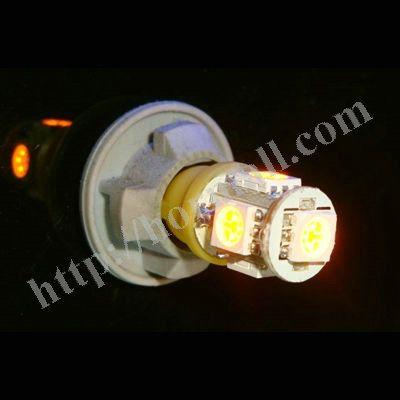 20 % 할인 ! 10 × 하이 휘도 12V 5050 5 SMD LED T10 5SMD 168 194 카 돌려 신호 실내 측 대시 전구 빛