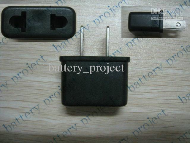 AU oder Euro EU zu US USA Wechselstrom-Stecker-Konverter-Reise-Ladegerät-Adapterkonverter neues 500pcs / lot