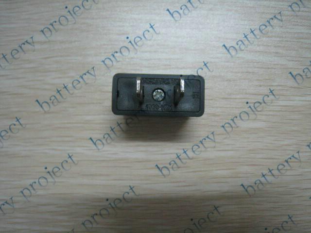 AU veya AB ABD AC güç Tak Dönüştürücü Seyahat Şarj Adaptörü çevirici balck 300 adet / grup