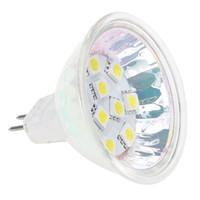 lâmpadas led mr16 24v venda por atacado-Dimmable G4 Base LED Bulb MR16 SMD 5050 10LEDs AC / DC10-30V, 12V / 24V 2W Substituir 15W - 20W Halogen Bulb