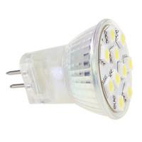 Wholesale Light Bulb 24v 3w - Free Shipment Dimmalbe LED MR11 G4 base Bulb 10led Light AC DC10-30V 12V 24V SMD 5050 153-175LM 1pcs lot