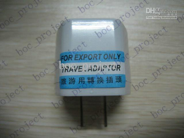 New universal EU UK CN AU to US USA travel charger adapter plug converter