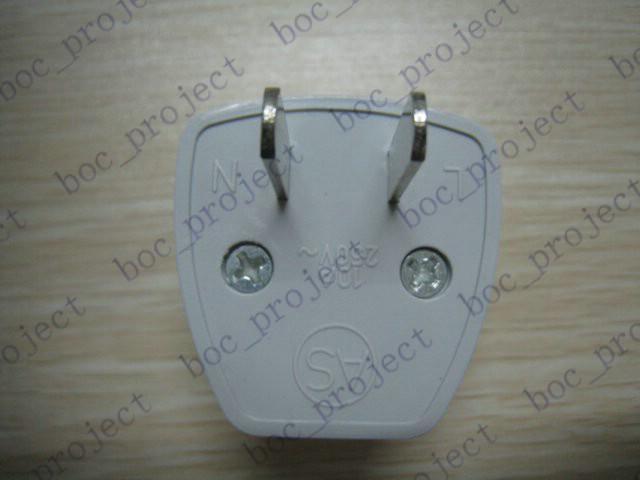 Neuer Universal EU UK CN AU nach USA USA Reiseadapter Stecker Steckdose Konverter /