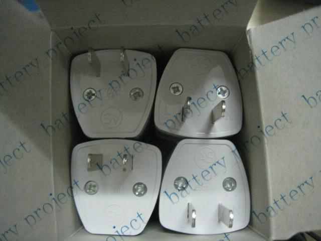AC UK Euro EU à États-Unis États-Unis AC alimentation Plug Convertisseur Voyage Adaptateur Convertisseur nouveau 1000 pcs / lot
