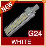 g24 52 led Canada - Sample High Power LED Light Lamp Tube G24 G23 E27 15W 52 SMD 5050 Flat light Lighting 85-265V