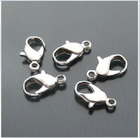 Wholesale High Quality Stainless Steel Clasps - 20pcs High quality 316L Stainless steel lobster clasps 9mm