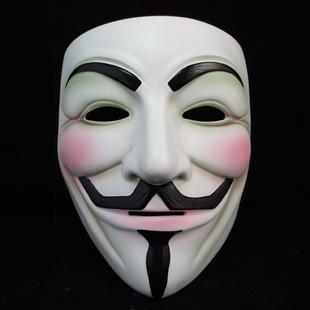 Halloween gehobene Sammlung von feinen Harz Film Thema V wie Vendetta Maske