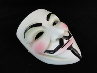 Halloween-upscale verzameling van fijne hars film Thema V voor Vendetta-masker