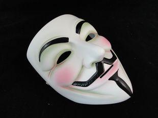 Vendetta maskesi için iyi reçine film tema V Cadılar Bayramı lüks koleksiyonu