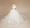 2013 Real picture Beading Lots of Handcirft Beaded Court Train Wedding Dresses(Romanticweddinggown)