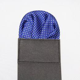 мужской носовой платок пунктирная башня сопли-тряпка платок карманный полотенце 9colors для выбирают
