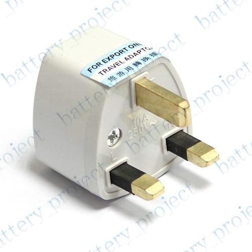 US UE AU à UK AC Plug Convertisseur de Voyage Voyage Adaptateur Sortie Convertisseur Socket 100pcs / lot