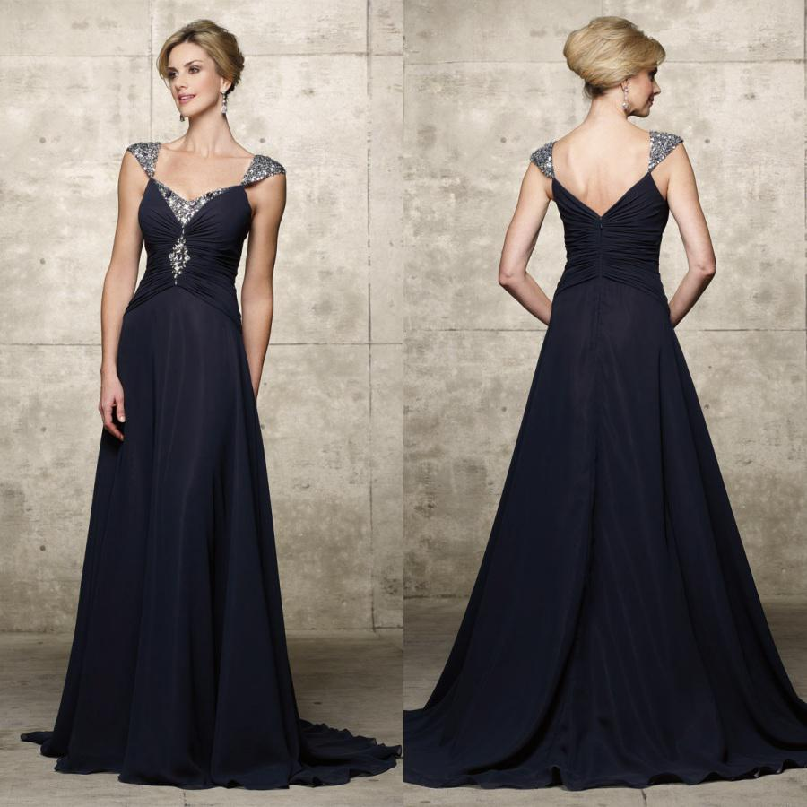 Blue Silver Gown