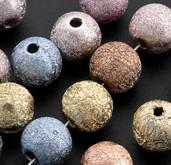 Wholesale 8mm Stardust Beads - Mixed Colorful Stardust Round Beads 8mm Hot sell Acrylic 360pcs IN STOCK Acrylic, Plastic, Lucite Loose Beads
