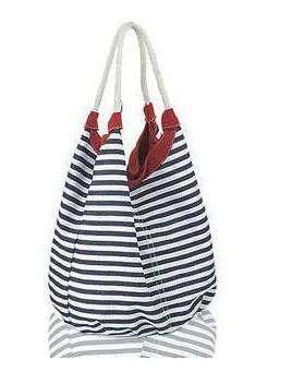 Fashion Leisure Strip Handbag Tote Designer Lady Girl's Student ...