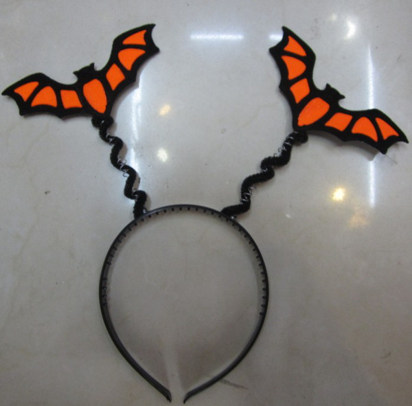 Halloween bat headband Funny headband Funny toy party prom activities clothing accessories