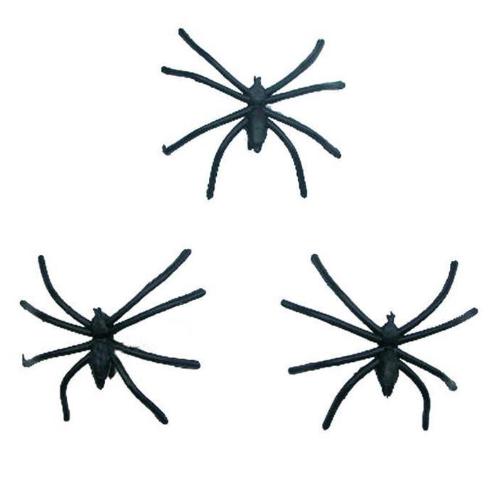 plastic spider halloween decoration plastic halloween spider bar decoration - Spider Decorations