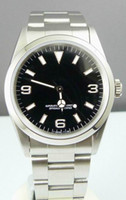 Wholesale Watch Rare - Rare Mens Automatic II Watch 36mm Black Dial Men Dive Watches 114270 Sport Wristwatch