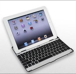 Wholesale Ipad3 Cases Keyboard - Aluminum bluetooth keyboard , bluetooth wireless keyboad for ipad 3 ipad2