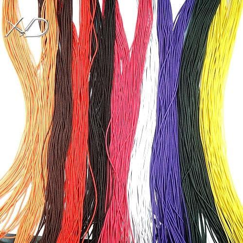 20m / Stretch elastische Perlenschnurdrahtkörperkomponenten für DIY Handwerk Modeschmuck Geschenk 1mm WC16