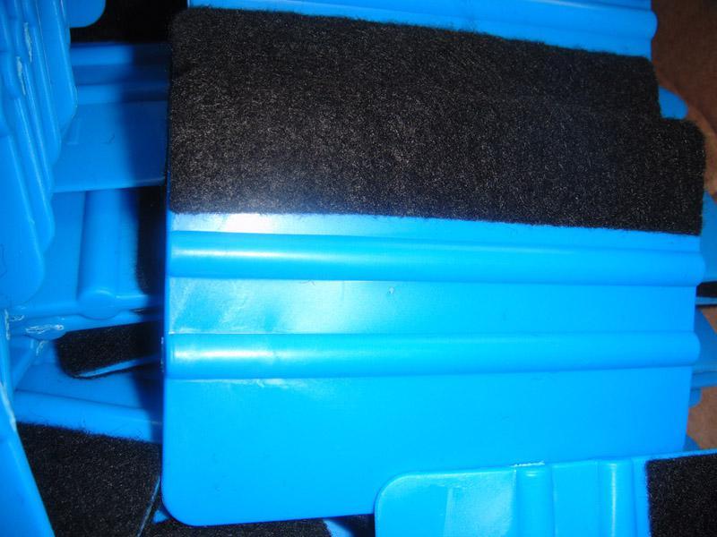 Plastikautoschaber Nehmen Sie Tuchschaber Paster Werkzeug 100pcs pro Los