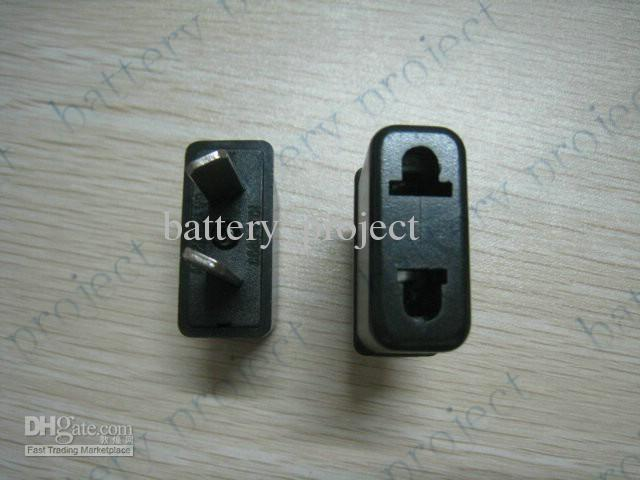 EU of VS naar AU AC Power Travel Adapter Outlet Convertor Socket Black Color /