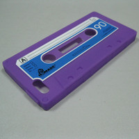 Wholesale Tape Cassette Back Cover - iTape Retro Deck Cassette Tape Silicone case Skin back cover for New iPhone 5 iPhone5 free shipping