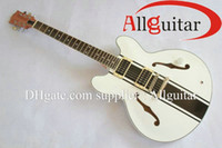 Wholesale China Toms - white Tom Delonge signature ES333 Semi hollow Electirc Guitar China Guitar