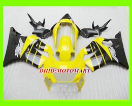 1999 Cbr F4 Fairings Black Canada - Top yellow black Fairing KIT for HONDA CBR600F4 99 00 CBR600 F4 1999 2000 CBR 600 F4 600F4 Injection mold