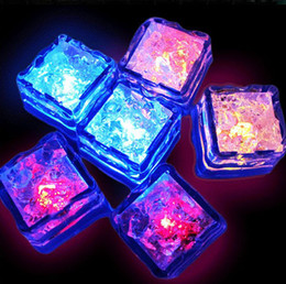 Wholesale Eva Cube - LED bar toy ball toys flash toys Fiber fingers lamp monochrome flashing ice cubes 20g