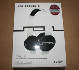 Wholesale Noise Cancelling Sol - SOL Republic headphones high-performance wide on-ear comfort for iPod iPad iPhone 30pcs